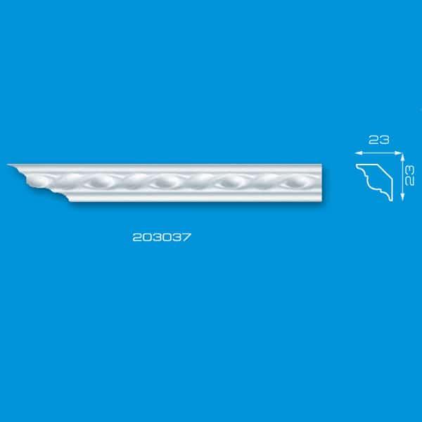 Moldura de Isopor de Teto   Ref: 203037