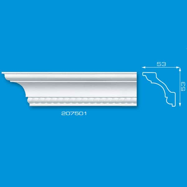 Moldura para teto em Isopor   Ref: 207501