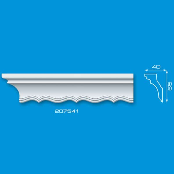 Moldura de Isopor de Teto | Ref: 207541