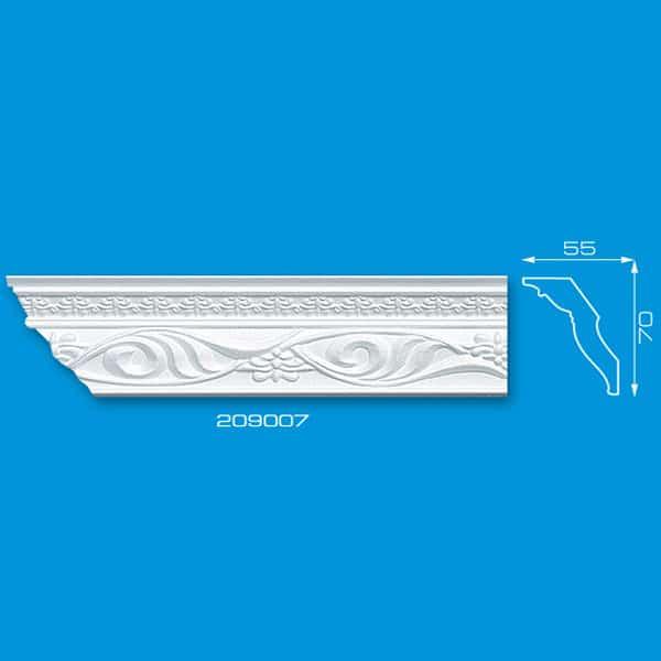 Moldura de Isopor para Decoração | Ref: 209007