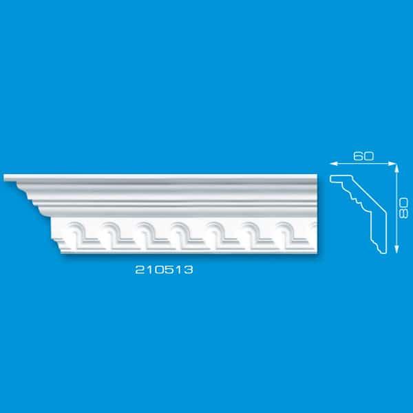 Moldura de Teto em Isopor | Ref: 210513