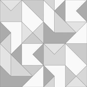 Papel de Parede Zara Cinza - Ref: 4105