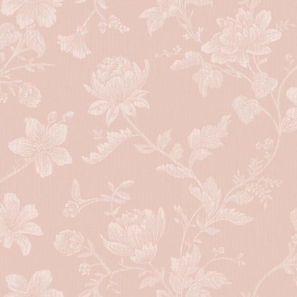 Papel de Parede Flores Rosa - Ref: 4128
