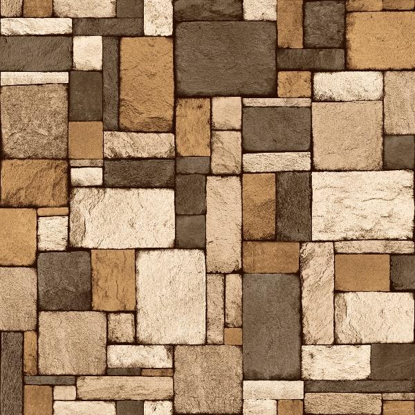 Papel de Parede Pedra 3D- Ref: 4153